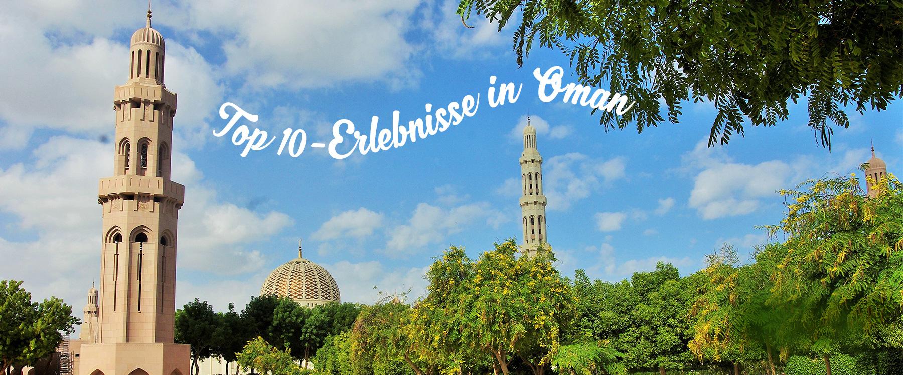 TOP 10 experiences in Oman