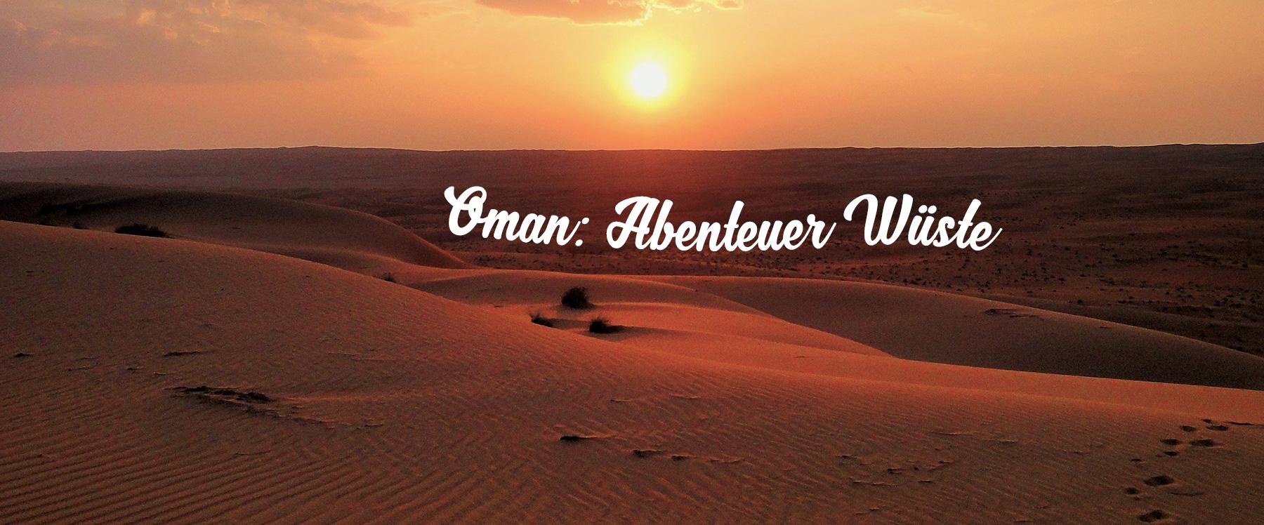 Oman's best desert adventures