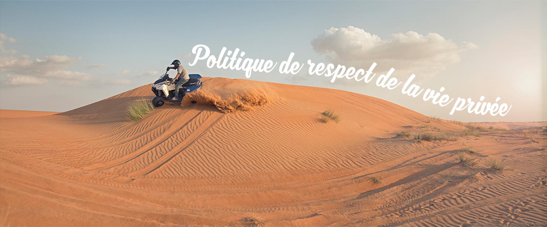 POLITIQUE LIÉE AU RESPECT DE LA VIE PRIVÉE